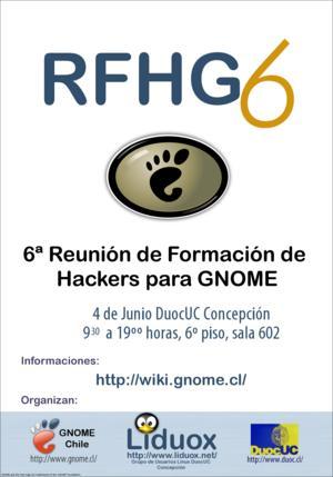 Afiche RFHG6
